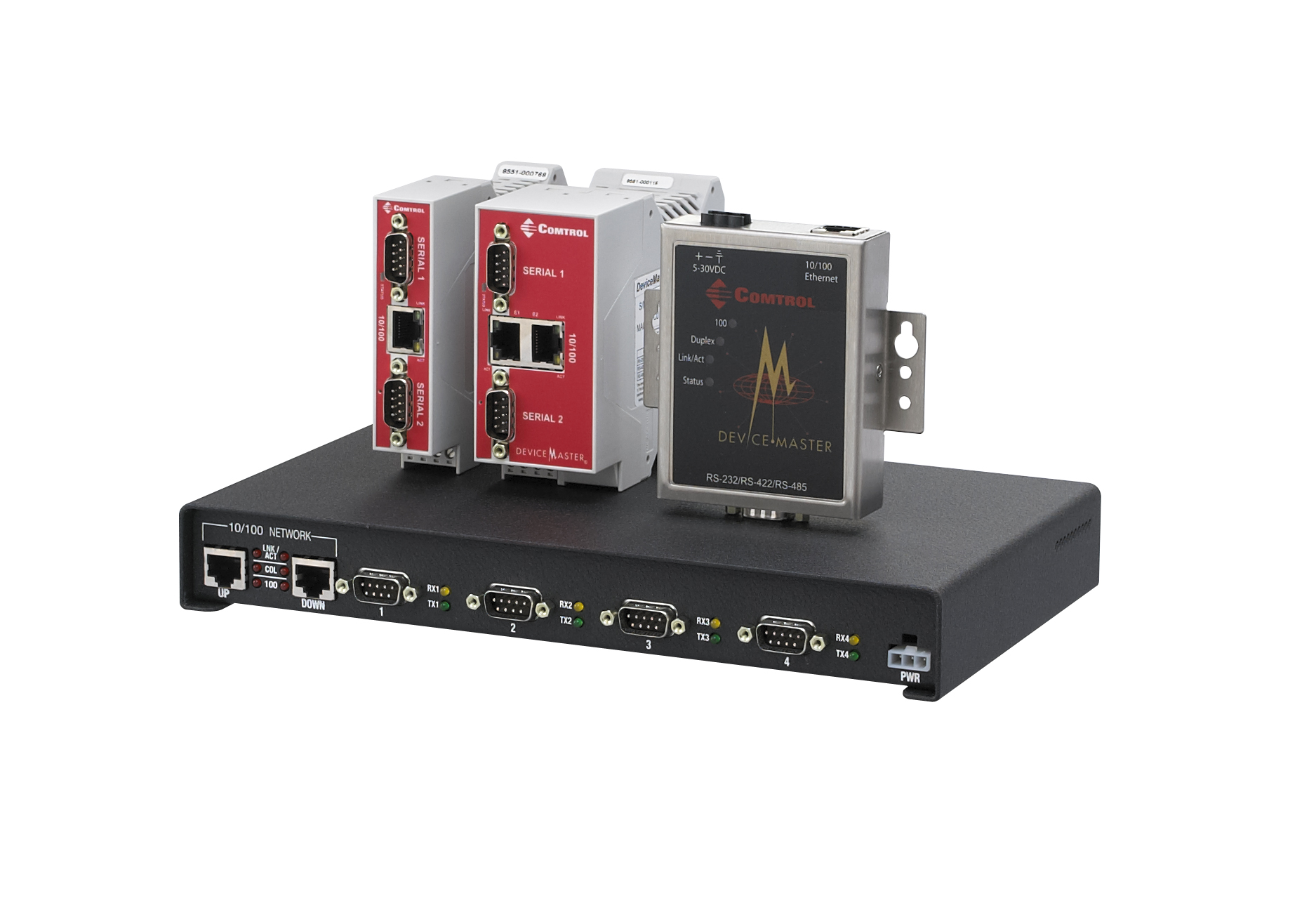 DeviceMaster UP industrial ethernet gateway