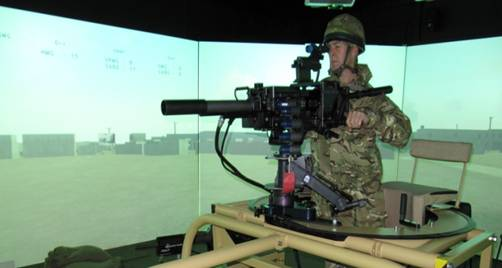 Military Simulator Training System