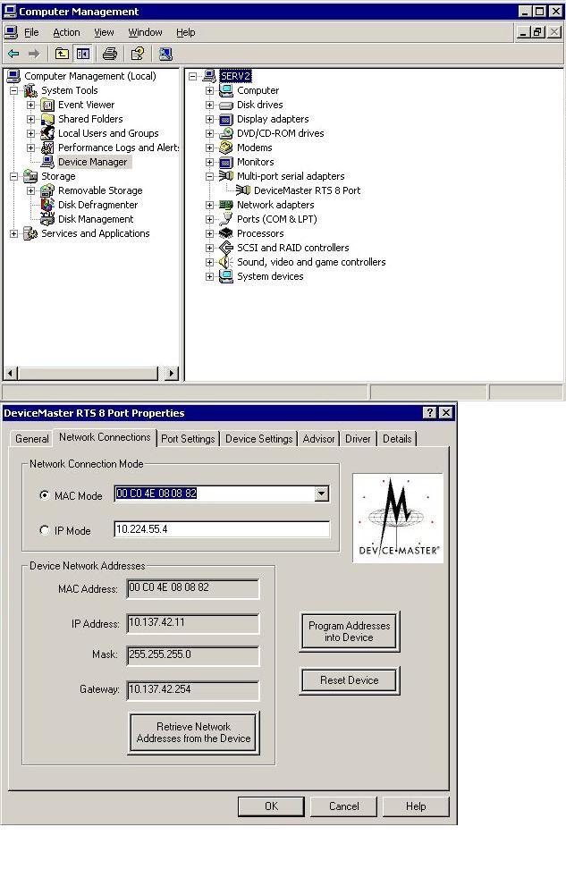 DeviceMaster RTS