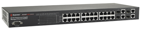RocketLinx ES9528-XT Industrial Ethernet Switch