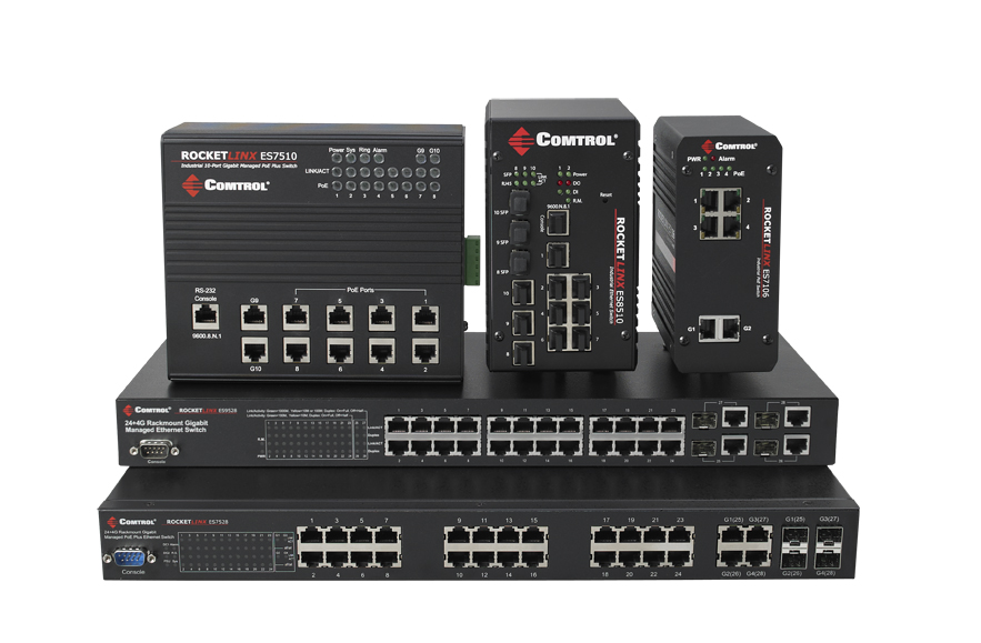 RocketLinx Industrial Ethernet Switches